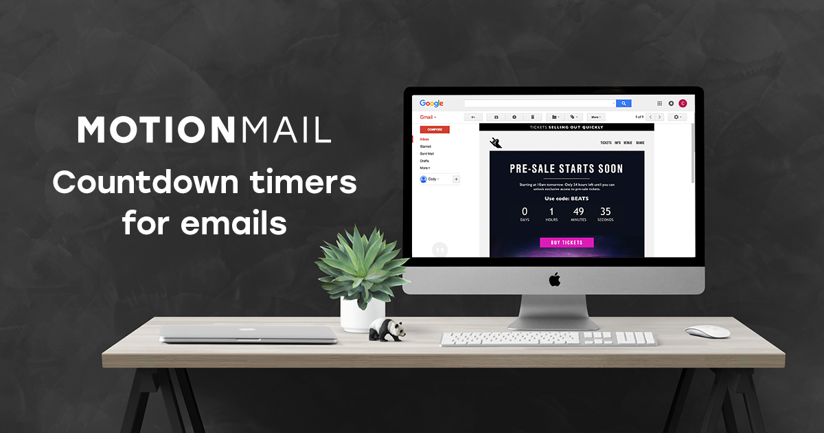 Countdown timers for email | MotionMail